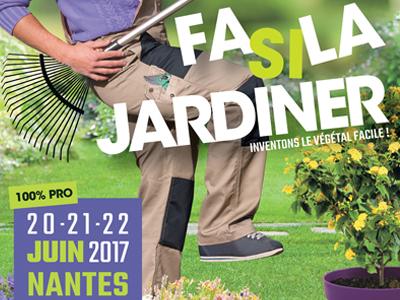 » Inventons le végétal facile ! » au Salon du Végétal 2017